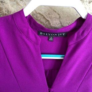 Brixon Ivy Tops - Stitch Fix Brixon Ivy fuchsia Size M